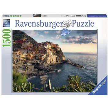 Puzzel Cinque Terre Uitzicht 1500 Stukjes
