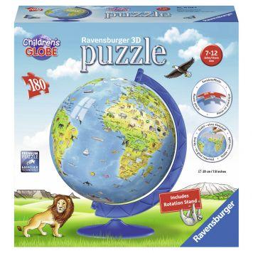 Puzzel 3D XXL Kinder Globe 180 Stuks Engelstalig