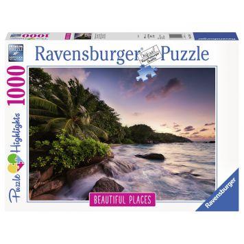 Puzzel Eiland Praslin Seychillen 1000 Stuk