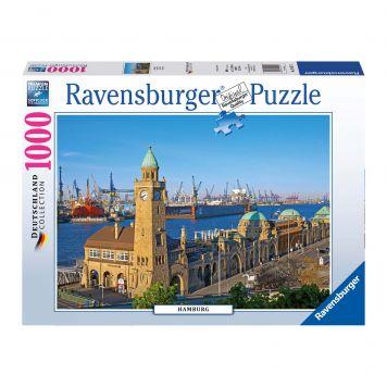 Puzzle Hamburg 1000 Stukjes