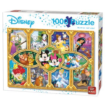 Puzzel Disney Magical Moments 1000 Stukjes