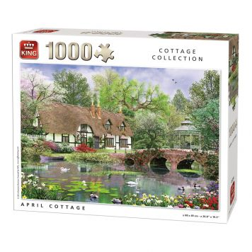 Puzzel April Cottage
