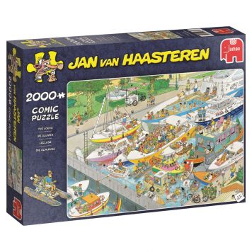 Puzzel Jan Van Haasteren Sluizen 2000 Stukjes