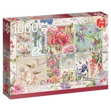 Puzzel Flower Stamp 1000 Stukjes