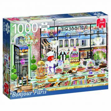 Puzzel Bonjour Paris 1000 Stukjes