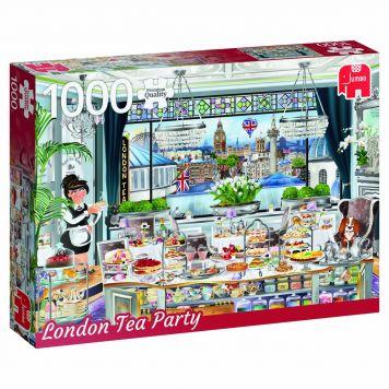 Puzzel London Tea 1000 Stukjes