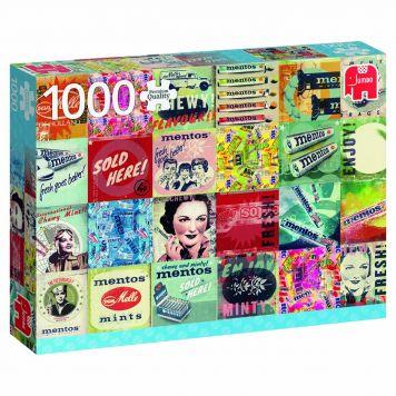 Puzzel Menton 1000 Stukjes