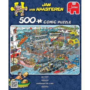 Puzzel Jan Van Haasteren Sea Port 500 Stukjes
