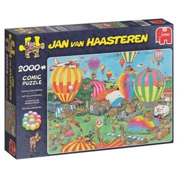 Puzzel Jan Van Haasteren Het Ballon Festival  2000 Stukjes