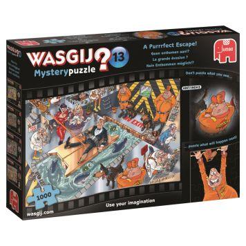 Puzzel Wasgij Mystery 13 Geen Ontkomen Aan 1000 Stukjes