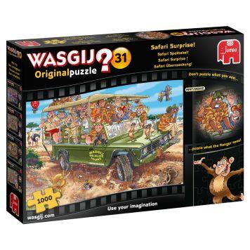 Puzzel Wasgij Orginal 31 Safari Spektakel 1000 Stukjes