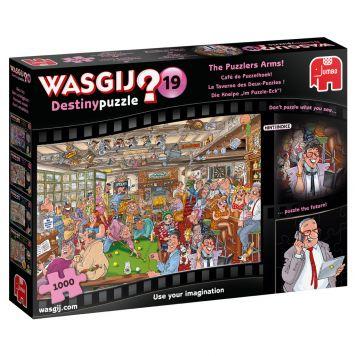 Puzzel Wasgij Destiny 19 Cafe De Puzzelhoek 1000 Stukjes