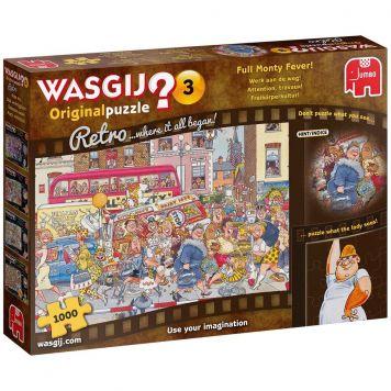 Puzzel Wasgij Retro Werk aan de Weg! (1000)