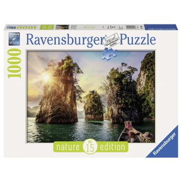 Puzzel Three Rocks In Cheow Thailand 1000 Stuks