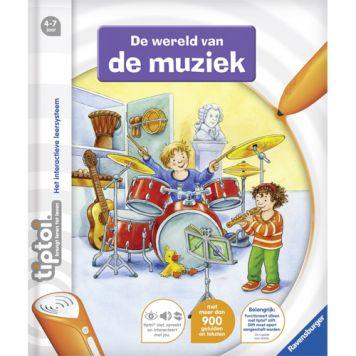 Boek Tiptoi De Wereld Van De Muziek