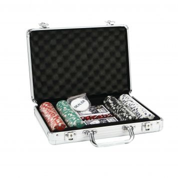 Pokerset In Aluminium Box 200 Delig