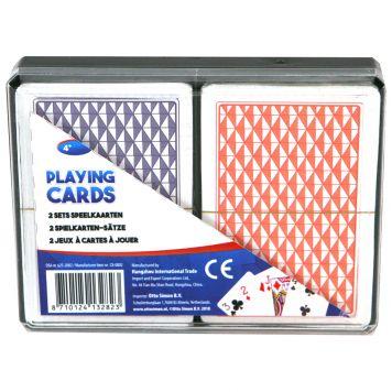 Speelkaarten In Doos 2 Sets