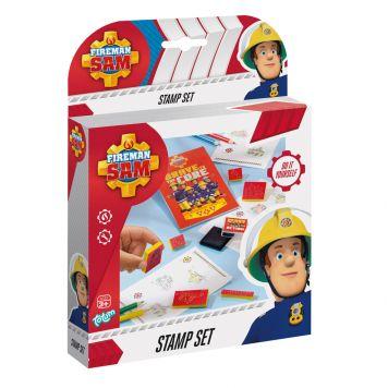 Brandweerman Sam Stamp Set Totum