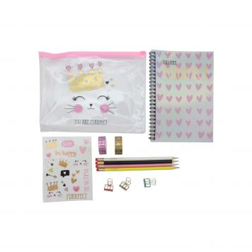 Purrfect Stationery Set