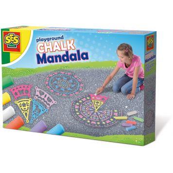 SES Stoepkrijt Mandala