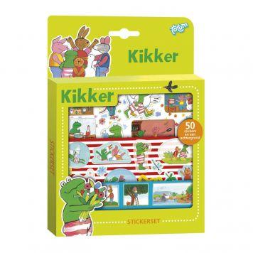 Totum Kikker Sticker Set