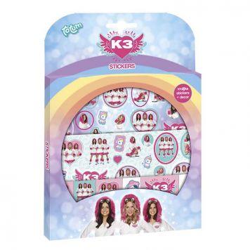 Totum K3 Sticker Set