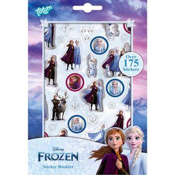 Frozen 2 Stickerboek 4 Vellen