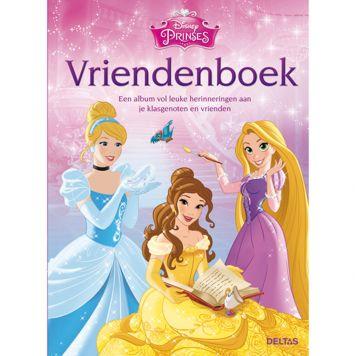 Vriendenboek Disney Princess