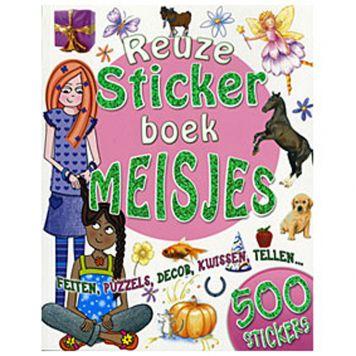 Boek Reuzestickerboek Meisjes