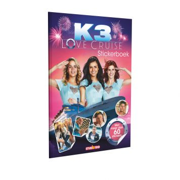 K3 Stickerboek Love Cruise