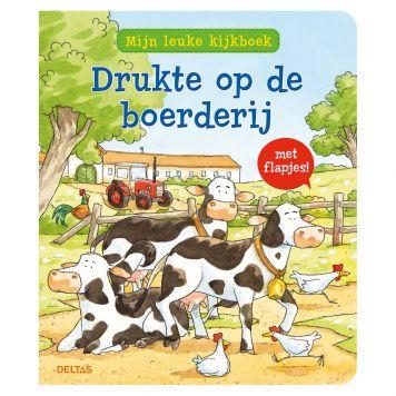 Boek Mijn Leuke Kijkboek Drukte Op De Boerderij