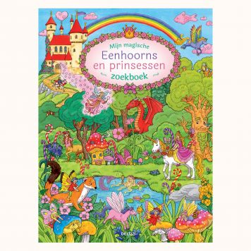 Boek Mijn Magische Eenhoorns En Prinsessen Zoek Boek