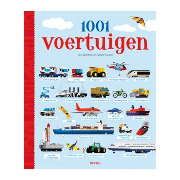 Kijkboek 1001 Voertuigen