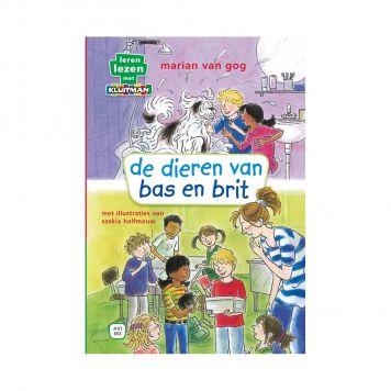 Boek AVI M3 De Dieren Van Bas En Brit Leren Lezen Met Kluitman