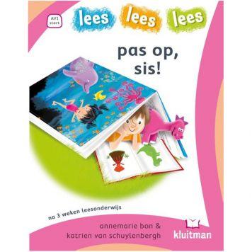 Boek Lees Lees Lees  Avi Start 1 Pas Op, Sis!