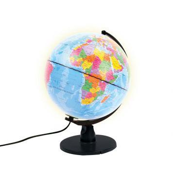 Globe Met Licht Nederlands LED 25 Cm
