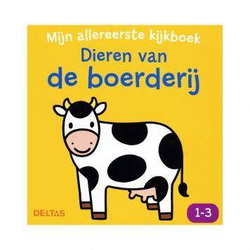 Boek Mijn 1e Kijkboek Dieren Van De Boerderij