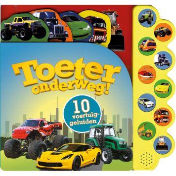 Boek Geluidenboek Toeter Onderweg