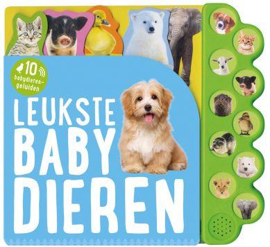 Boek Geluidenboek Leukste Babydieren