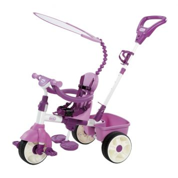 Driewieler Little Tikes 4 In 1 Roze
