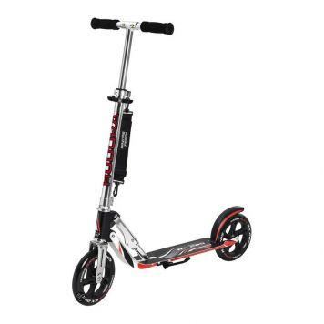 Step Aluminium Big Wheel 205 Zwart/Rood
