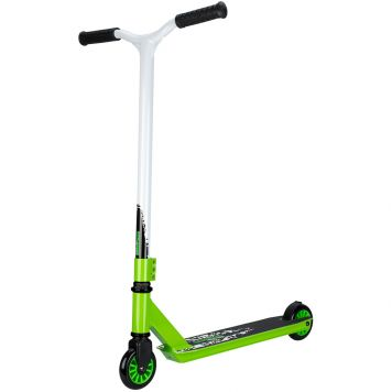 Step Stunt Scooter Zwart / Groen / Wit