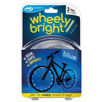Wheely Bright Blue 2 Stuks