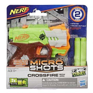 Nerf Microshots Zombi Strike Crossfire Bow
