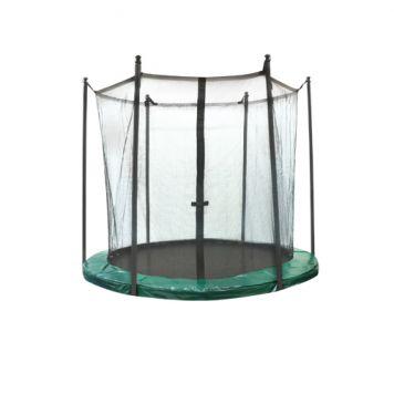 Trampoline Vangnet 305 Cm Groen