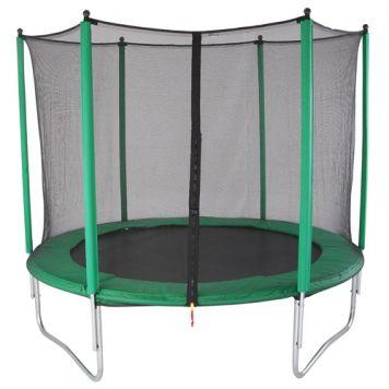 Trampoline Set Groen 244cm