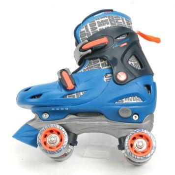 Rolschaats Blauw Maat 34-37