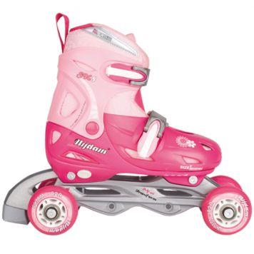 Inline Skates Quad Roze Maat 30 - 33