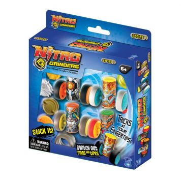 Nitro Grinders 4 Pack Deluxe Customisation Pack