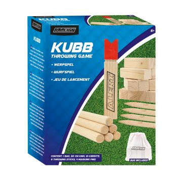 Spel Kubb Basic Set Alert